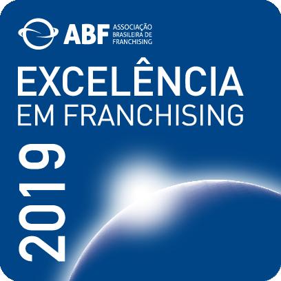 Selo de Excelência em Franchising 2019 - ABF - Associação Brasileira de Franchising