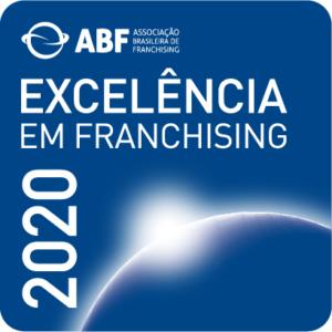 Imagem Selo de Excelência em Franchising 2020 - ABF - Associação Brasileira de Franchising